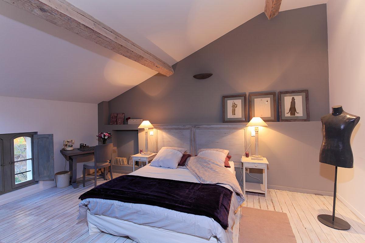 Chambre d 39 h te c t parc proche de collioure castell de bl s for Chambre hote collioure